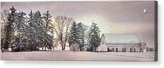Lykens Valley Farm Acrylic Print by Lori Deiter