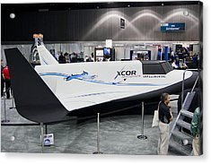 Lynx Spaceplane Mock-up Acrylic Print by Science Photo Library