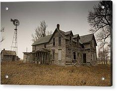 Lyons Kansas Farm House Acrylic Print