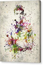 Lyoto Machida Acrylic Print by Aged Pixel