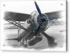 Lysander In Readiness Acrylic Print by Donald Turner