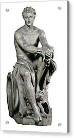 Lysippus C. 370-318 Bc. Ares Ludovisi Acrylic Print