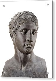 Lysippus C. 370-318 Bc. Hermes. 4th C Acrylic Print by Everett