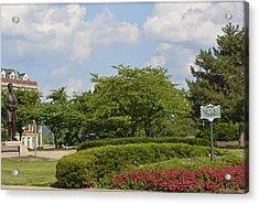 Lytle Park Cincinnati Acrylic Print by Kathy Barney