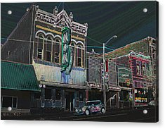 M And M Bar Acrylic Print by Kevin Bone