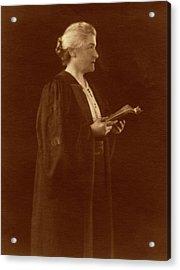 M. Carey Thomas Acrylic Print by American Philosophical Society