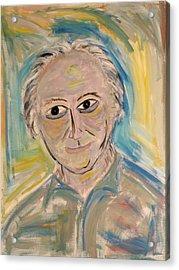 M. Portrait  Acrylic Print by Maggis Art