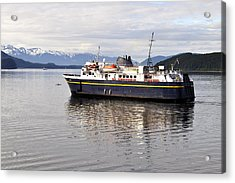 Acrylic Print featuring the photograph M/v Leconte by Cathy Mahnke
