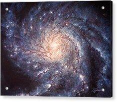 M101 Pinwheel Galaxy Acrylic Print