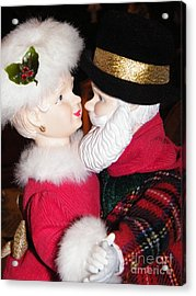 Ma And Pa Claus Acrylic Print