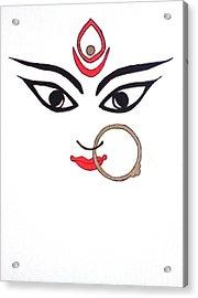 Maa Kali Acrylic Print by Kruti Shah