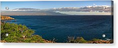 Maalea Bay Overlook   Acrylic Print by Lars Lentz