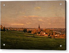 Maastricht Seen From Sint Pieter Acrylic Print by Nop Briex