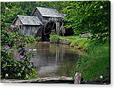 Mabry Mill In May Acrylic Print