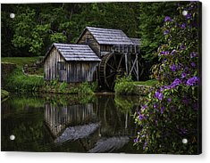Mabry Mill In Spring Acrylic Print
