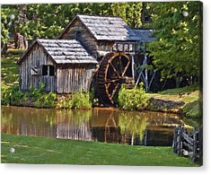 Mabry Mill In Summer Acrylic Print
