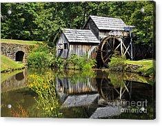 Mabry Mill In Virginia Acrylic Print