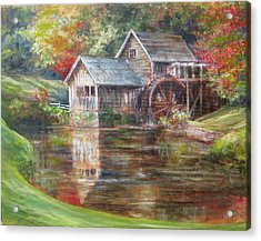 Mabry Mill Sold  Acrylic Print