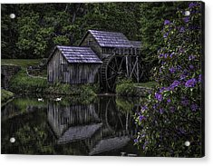 Mabry Mills In Spring 0002 Acrylic Print