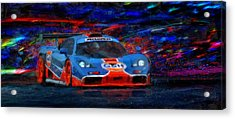 Mac And G's Acrylic Print by Alan Greene
