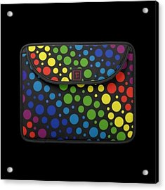 #macbook #cover #rainbow #awesome Acrylic Print