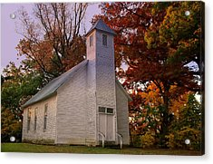 Macedonia Missionary Baptist Church Acrylic Print by Chris Flees