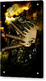 Machine Thoughts Acrylic Print by Nathan Wright
