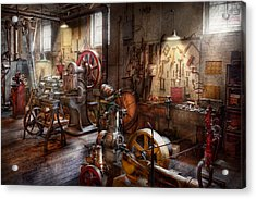 Machinist - A Room Full Of Memories  Acrylic Print