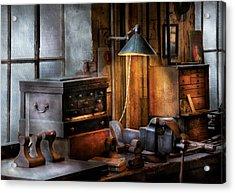 Machinist - My Workstation Acrylic Print