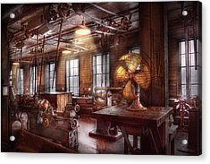 Machinist - The Fan Club Acrylic Print by Mike Savad