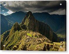 Machu Picchu, Ancient Ruins, Unesco Acrylic Print by Howie Garber