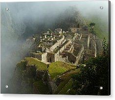 Machu Picchu Peru 2 Acrylic Print