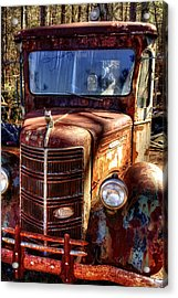 Mack Truck Acrylic Print