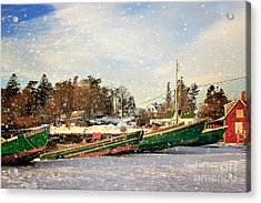 Mackerel Cove Maine Acrylic Print