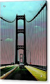 Mackinac Bridge Fantasy Acrylic Print