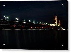 Mackinac Bridge Acrylic Print