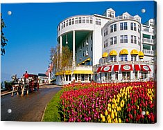 Mackinac Grand Hotel Acrylic Print