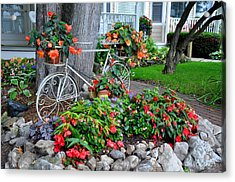 Mackinac Island Garden Acrylic Print