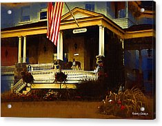 Mackinac Island Home 3 Acrylic Print by Robert Sobota