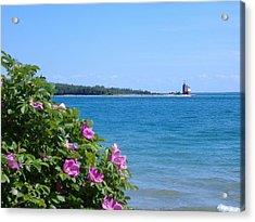 Acrylic Print featuring the photograph Mackinaw Island Lighthouse by Bill Woodstock