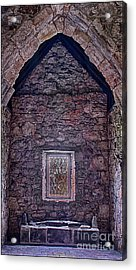 Macleod Tomb St Clements Rodel Acrylic Print by George Hodlin