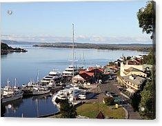 Macquarie Harbour Tasmania All Profits Go To Hospice Of The Calumet Area Acrylic Print
