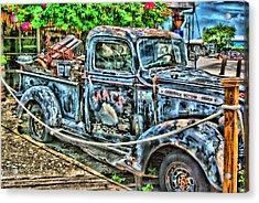 Mac's Truck Acrylic Print