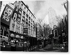 Macys At Broadway And 34th Street Herald Square New York City Acrylic Print by Joe Fox