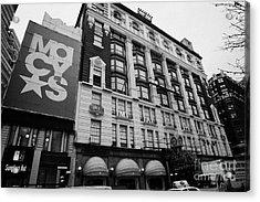 Macys Department Store New York City Acrylic Print by Joe Fox