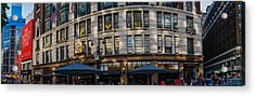 Macy's New York Panoramic Acrylic Print by Chris McKenna
