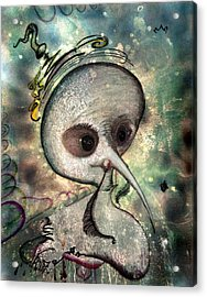 Mad  Her Evil Astral Soul Acrylic Print