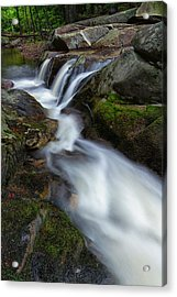 Mad River Flume Acrylic Print