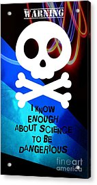 Mad Scientist Acrylic Print by Daryl Macintyre