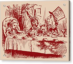 Mad Tea Party Acrylic Print